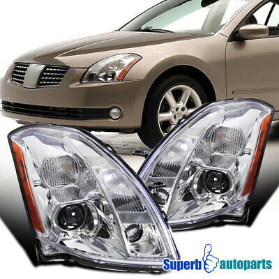 $182.98 • Buy For 2004-2006 Nissan Maxima Housing Projector Headlights Head Lamps Replacement