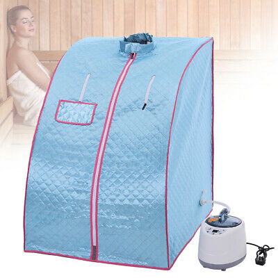 £79.95 • Buy Portable Steam Sauna Tent Spa Room Slimming Loss Weight Full Body Detox Therapy