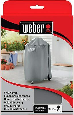 $ CDN42.41 • Buy Weber Charcoal Kettle Grill Cover Grey Fits 47cm BBQ 7175
