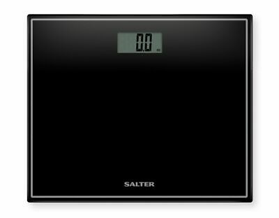 £15.72 • Buy Salter Digital Black Bathroom Scales Compact Glass Profile Body Weighing 9207