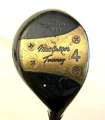 $19.99 • Buy Vintage MacGregor Tommy Armour Tourney Oil Hardened No. 653 4 Wood