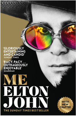 £11.99 • Buy Me: Elton John Official Autobiography By Elton John Book The Cheap Free Delivery