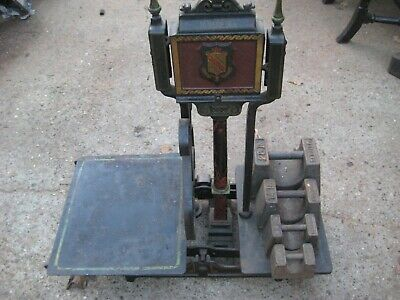£75 • Buy W & T Avery Large Cast Iron Butchers / Shop Weighing Scales With Weights