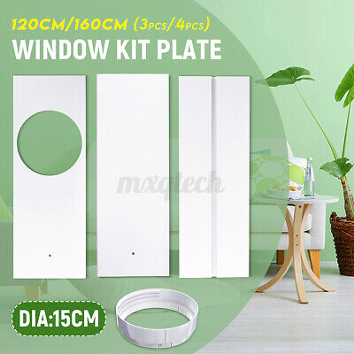 AU63.42 • Buy Dia 15cm Window Slide Kit Plate With Adaptor For Portable Air Conditioner Q