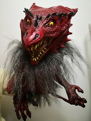 £52.99 • Buy Scary RED Dragon Rubber-RARE IMPORT