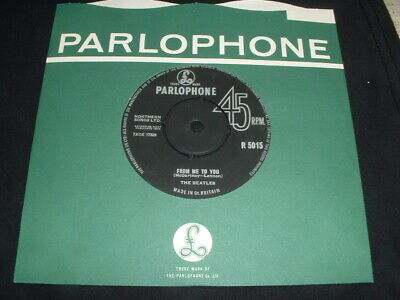 £3.99 • Buy The Beatles 45  From Me To You 1963 Uk 7  Upper Case Small Title Print