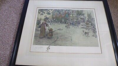£90 • Buy   NEWS Of The VICTORY   CECIL ALDIN Signed Limited Edition Print With VIGNETTE