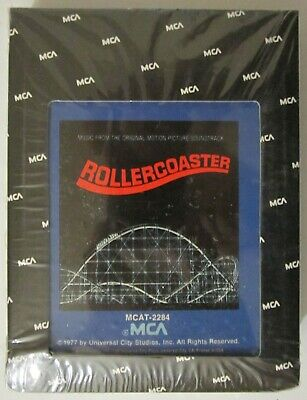 AU2.58 • Buy  ROLLERCOASTER  OST 8-Track Tape Cartridge-MCA RECORDS-SEALED