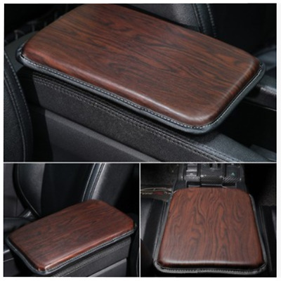 $16.10 • Buy Red Leather Car Armrest Pad Cover Auto Console Mat Dustproof Cushion Universal