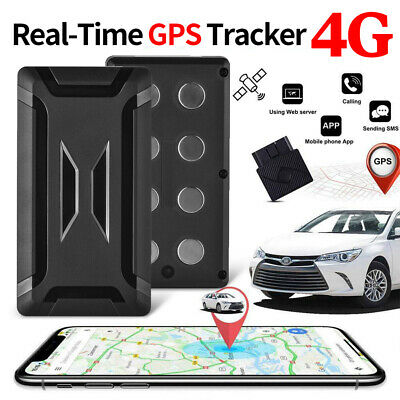 AU119.99 • Buy Vehicle GPS Real Time Locator Location Car Tracking Alarm Tracker 4G Magnetic