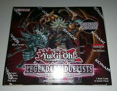 £86.90 • Buy Yugioh - Legendary Duelists: Rage Of Ra - *1st Edition* - New Sealed Booster Box