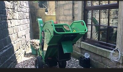 £100 • Buy Greenmech Narrow-access Wood Chipper + Operator For Hire: Lancs/Yorks/Grtr Manc.