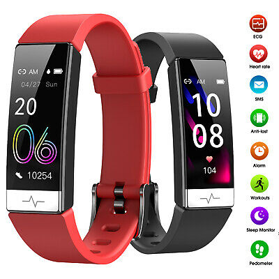 AU50.90 • Buy Smart Watch ECG Sport Fitness Tracker Heart Rate Monitor For IOS Android IPhone