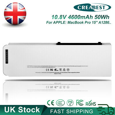 £32.95 • Buy 10.8V MB772 A1281 MB772*/A Battery For Apple Macbook Pro 15 Unibody A1286 2008