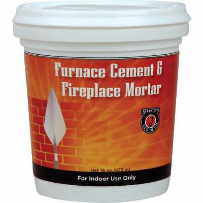 Meeco's Red Devil 1/2 Pt. Gray Furnace Cement & Fireplace Mortar 1352  - 1 Each • 3.38£