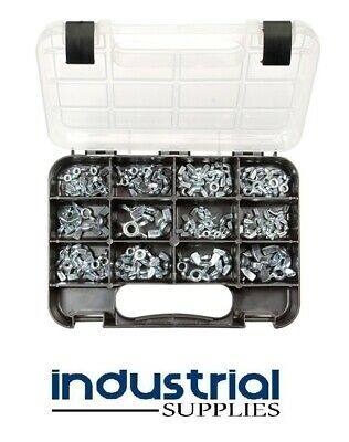 AU39.95 • Buy GJ Works Wing Nuts 102 Pieces Zinc Plated GKA102