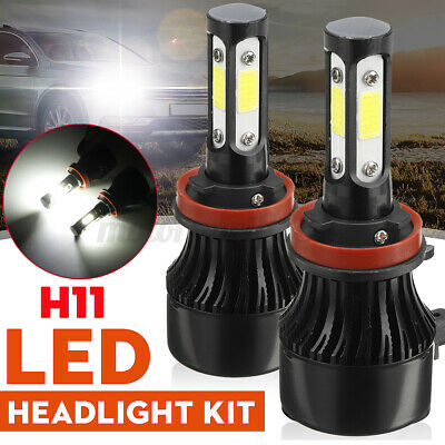 AU17.99 • Buy 2x H11 H9 H8 32000LM 4-Side LED Headlight Driving Lamp Hi-Low Beam Bulb