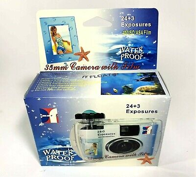 £8.91 • Buy New Underwater Disposable Camera Waterproof With  27 Exposures