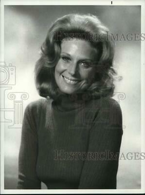 $ CDN17.39 • Buy 1977 Press Photo Actress Mary Frann On  Days Of Our Lives  - Pip11886