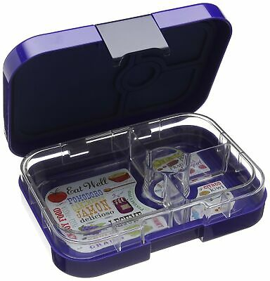 AU365.26 • Buy Yumbox Leakproof Bento Lunch Box Container V2 (Lavande Purple) For Kids