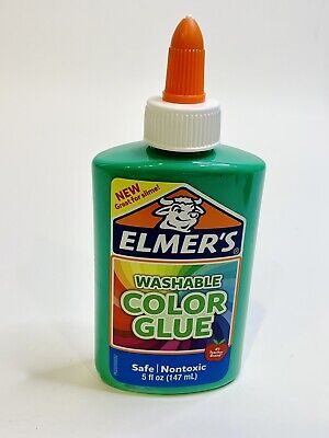 AU5.14 • Buy Green Slime Glue, Elmer's Green Nontoxic Liquid School Glue, 5fl Oz Brand New