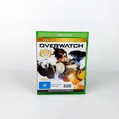 AU26.88 • Buy  Overwatch Game Of The Year Edition - Xbox One - FREE POST