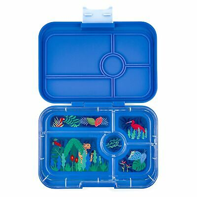 AU99.60 • Buy Yumbox Tapas XL Lunch Box (5, True Blue) - Bento Box For Adults And Teenagers...