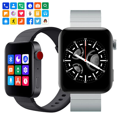 AU32.72 • Buy Smart Watch Bluetooth Phone Call Message Push Smartwatch For Samsung Android IOS