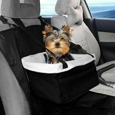 £12.95 • Buy Pet Car Carrier Bed With Safety Belt For Dog/Cat Puppy/Travel Booster Seat Black