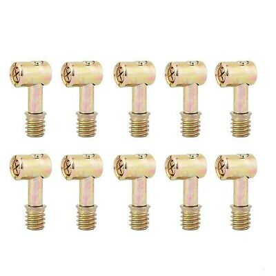 £14.99 • Buy 10pcs Hammer Bolts Kitchen Cabinet Connectors Hammer Head Bolts Furniture Fas...