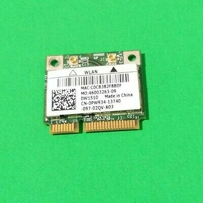 $16.06 • Buy WiFi WIRELESS CARD 0PW934-13740 FOR DELL PRECISION M6500 LAPTOP -TESTED
