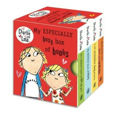 £21.98 • Buy Charlie And Lola: My Especially Busy Box Of Books By Lauren Child (Board Book)