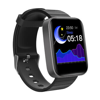 AU46.05 • Buy NEW Smartwatch Body Temperature Monitor Heart Rate Blood Pressure Tracker Watch