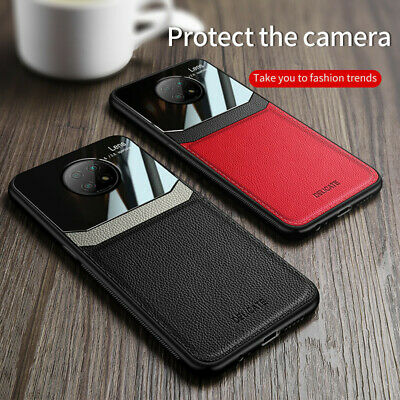 AU6.74 • Buy For Xiaomi Redmi Note 9T 9 8 Pro 9A 9C Slim Leather Hybrid Phone Back Case Cover