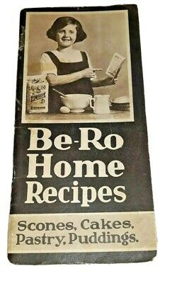 Vintage Be-Ro Home Recipes Book - 17th Ed  Scones * Cakes * Pastry * Puddings • 43£