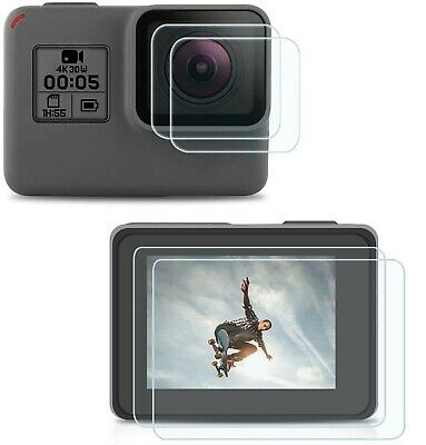 $ CDN31.07 • Buy [2 Packs] Screen Protector For GoPro Hero 7(Only Black)/ Hero 6/ Hero 5/2018,...