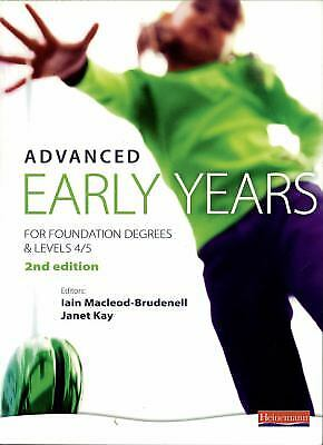 £9.55 • Buy Advanced Early Years : For Foundation Degrees And Levels 4/5 Vicky Cortvriend