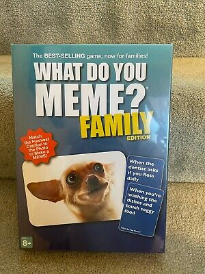 AU20.99 • Buy What Do You Meme? Family Edition Game