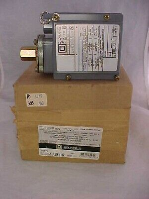 AU98.32 • Buy SQUARE D INDUSTRIAL PRESSURE SWITCH New In Box 9012 GAW-4 Series C