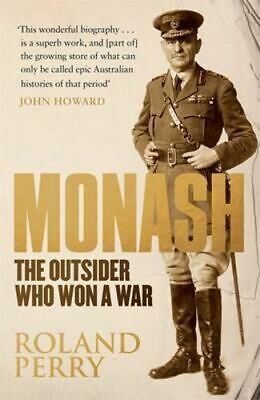 AU31.75 • Buy NEW Monash By Roland Perry Paperback Free Shipping