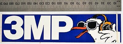 AU5.20 • Buy 3MP Radio Station, Vinyl Sticker 1980s-1990s