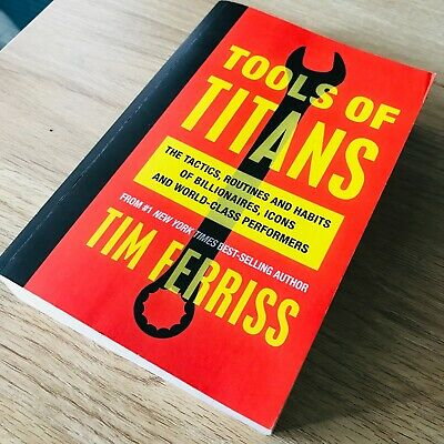 AU27 • Buy Tools Of Titans Paperback Book Tim Ferris