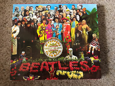 £5 • Buy The Beatles Sgt. Peppers Lonely Hearts Club Band CD & Booklet