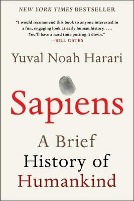 AU15.66 • Buy Sapiens: A Brief History Of Humankind - Paperback By Harari, Yuval Noah VGC