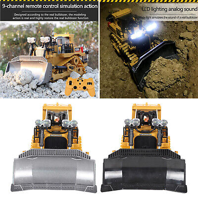 £22.35 • Buy Remote Control RC Construction Bulldozer Toy Tractor Front Loader Excavator 9CH