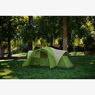 AU271.66 • Buy 8 Person Dome Tent Ample Space For Three King Size Air Beds WeatherTec System