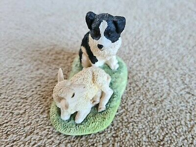 £19 • Buy Border Fine Arts Pals Sheep Dog Puppy And Lamb Suitable As Cake Topper