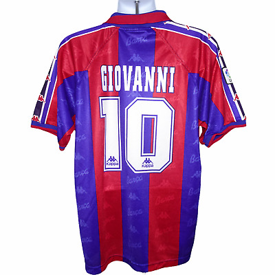£170.99 • Buy 1995-1997 Barcelona Home Shirt #10 Giovanni Kappa XL (Excellent Condition)