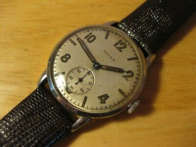 $ CDN1034.16 • Buy Rare Rolex 3882 Wwii 1940's Military Style Mechanical Vintage Mens Watch