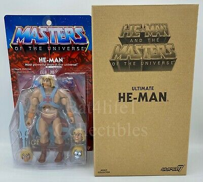 $199.95 • Buy MOTUC,MOTU,Masters Of The Universe Filmation Ultimate Super 7 HE-MAN NEW!!